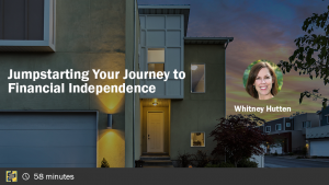 Jumpstarting Your Journey to Financial Independence with Whitney Hutten