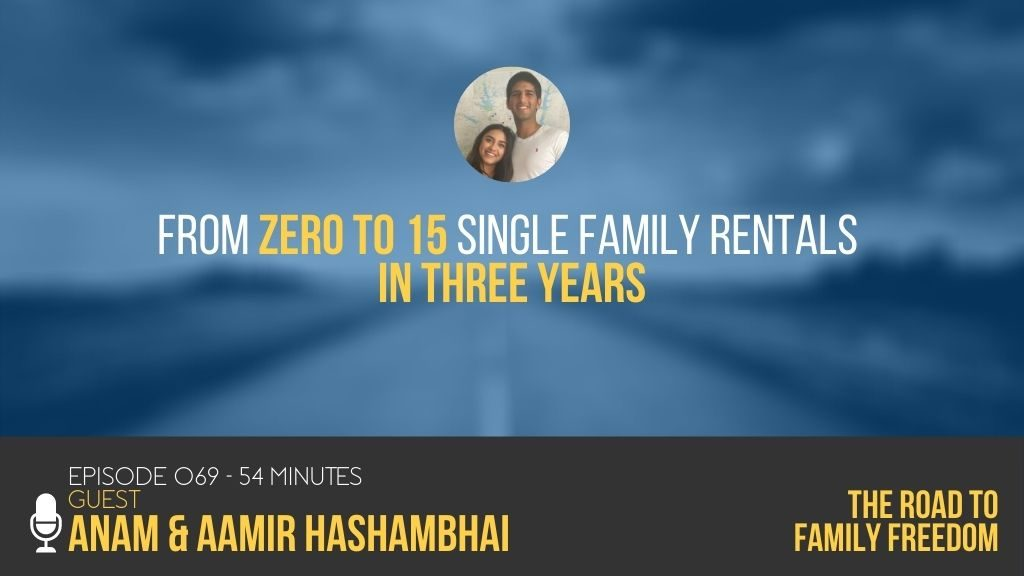 From Zero to 15 Single Family Rentals in Three Years with Anam & Aamir Hashambhai Feature Image