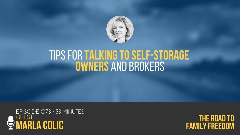 Tips for Talking to Self-Storage Owners and Brokers with Marla Colic - Feature Image